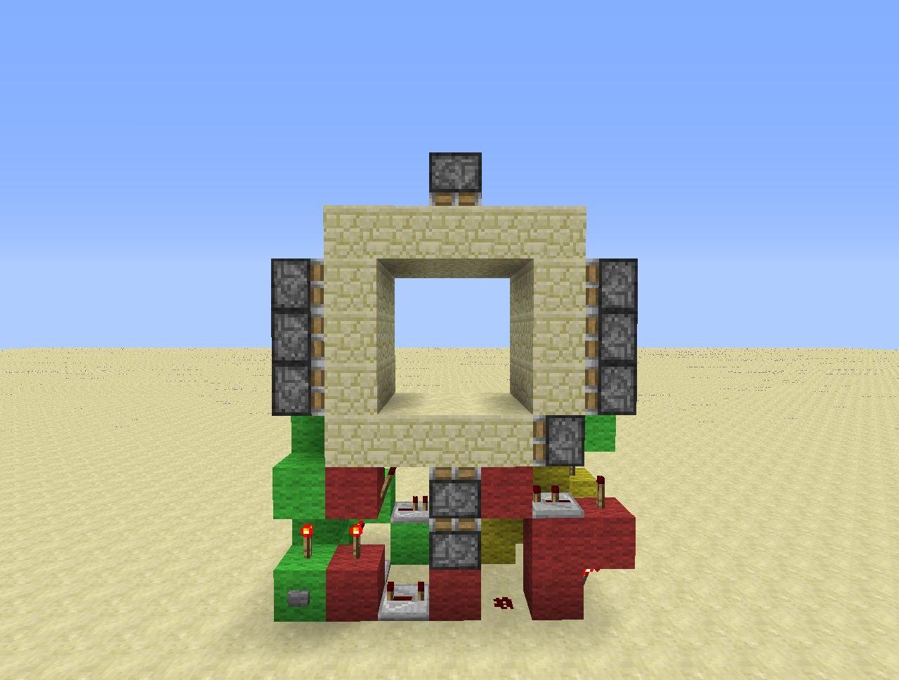 Minecraft Super Compact 3x3 Piston Door Tutorial [3x7!] Minecraft Project & Minecraft Super Compact 3x3 Piston Door Tutorial [3x7!] Minecraft ... Pezcame.Com