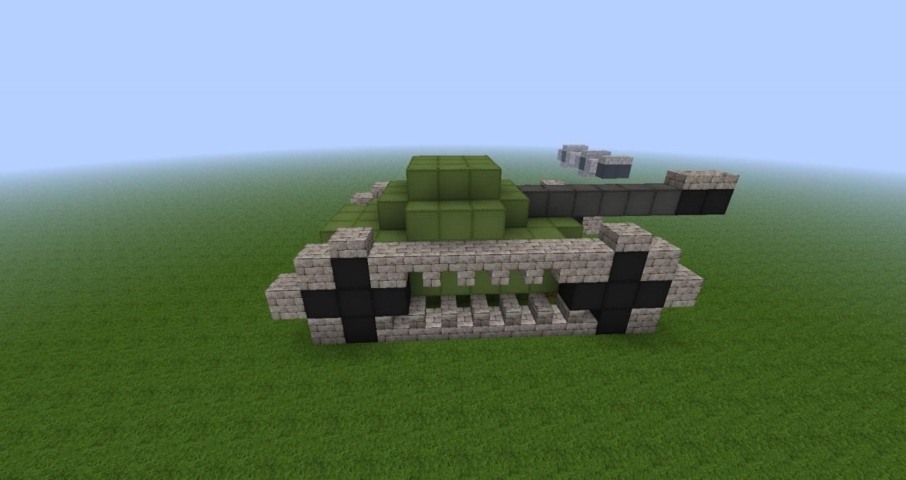 Как в майнкрафте 1.12.1 построить танк