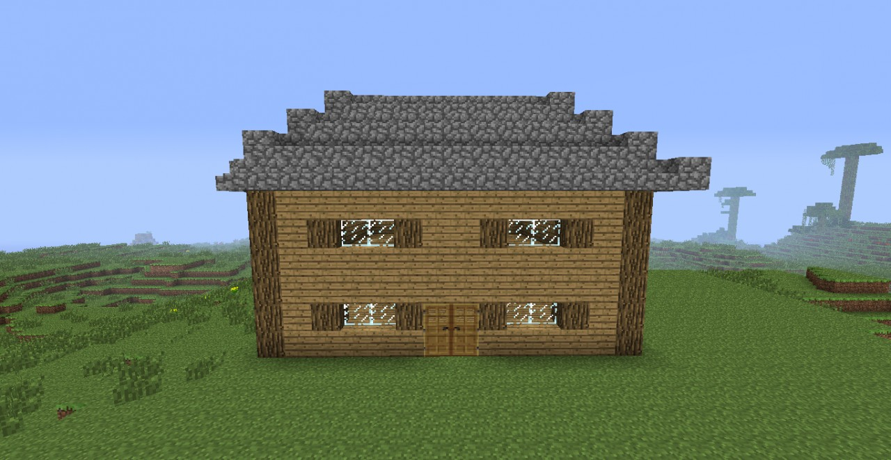 Wooden House (design it yourself ) Minecraft Map