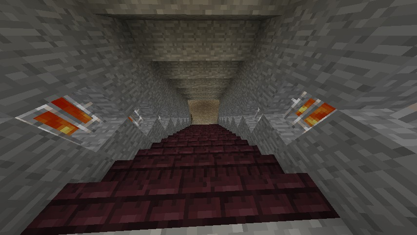 Way to the sorting room