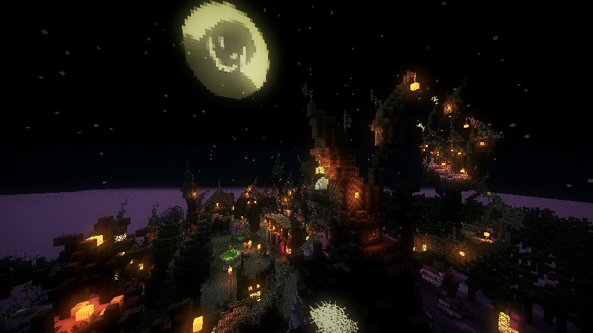 Halloween Town - Nightmare Before Christmas Minecraft Project