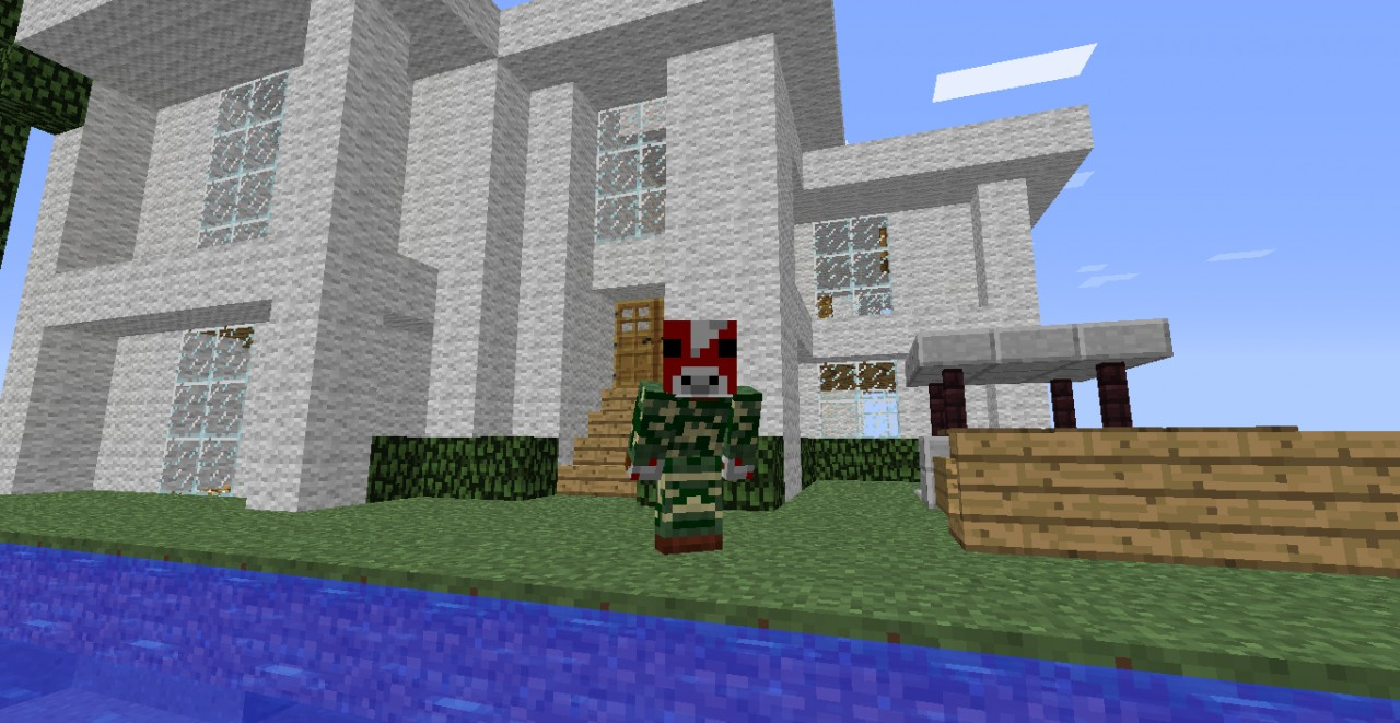 how to build a fancy house in minecraft