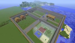 Playing on a server :D Minecraft Project