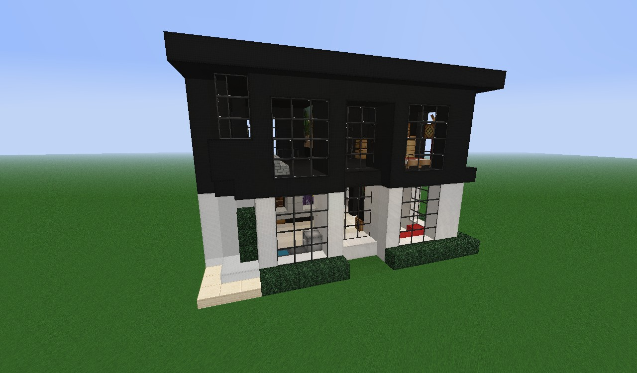 Modern house small 20x20 minecraft project for 20x20 house