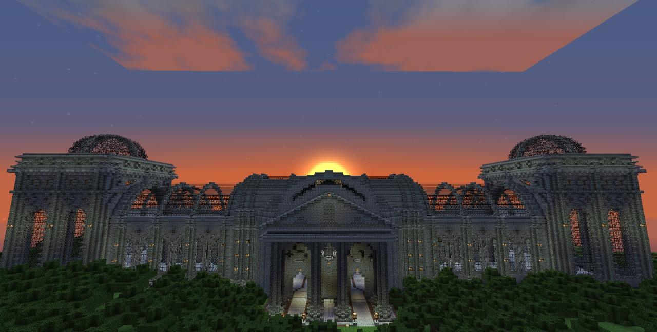 The theatre at dawn