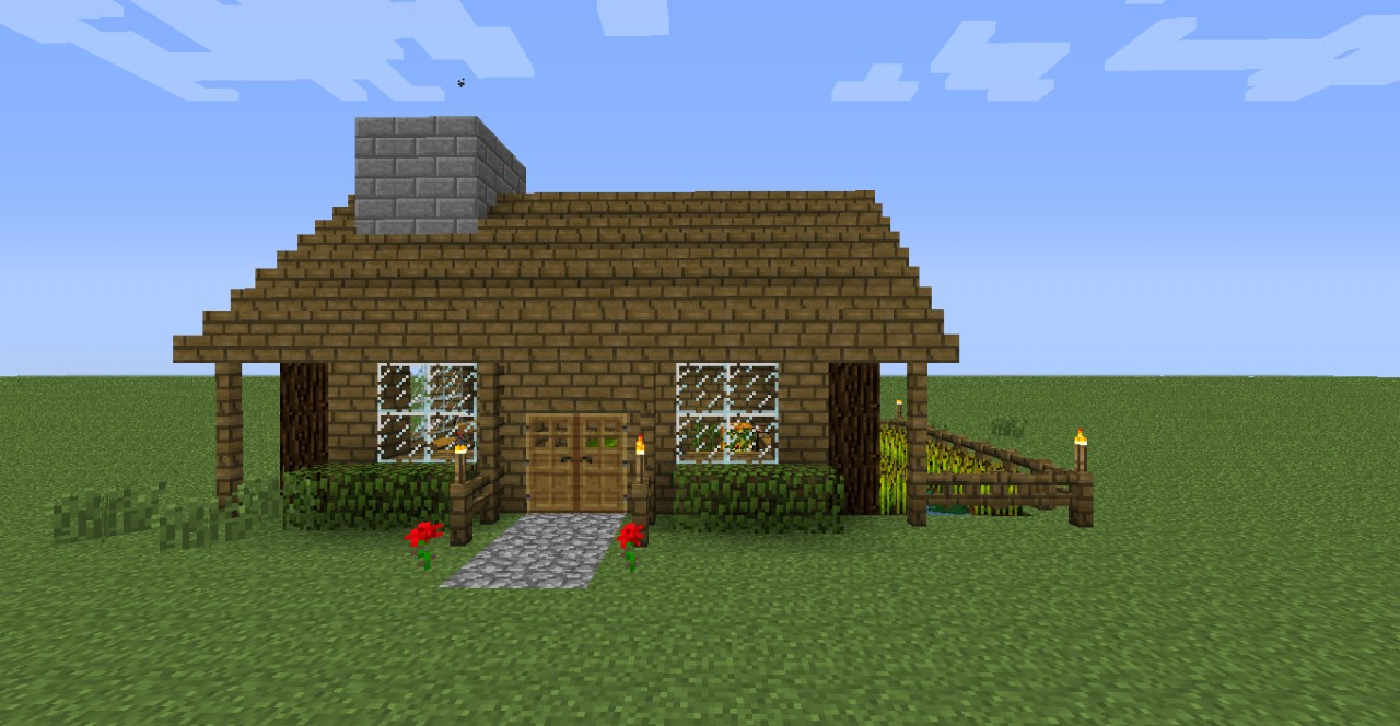 Nice survival house Minecraft Project