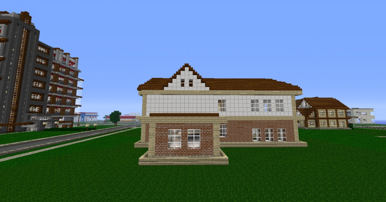 Large Empty House Minecraft Project