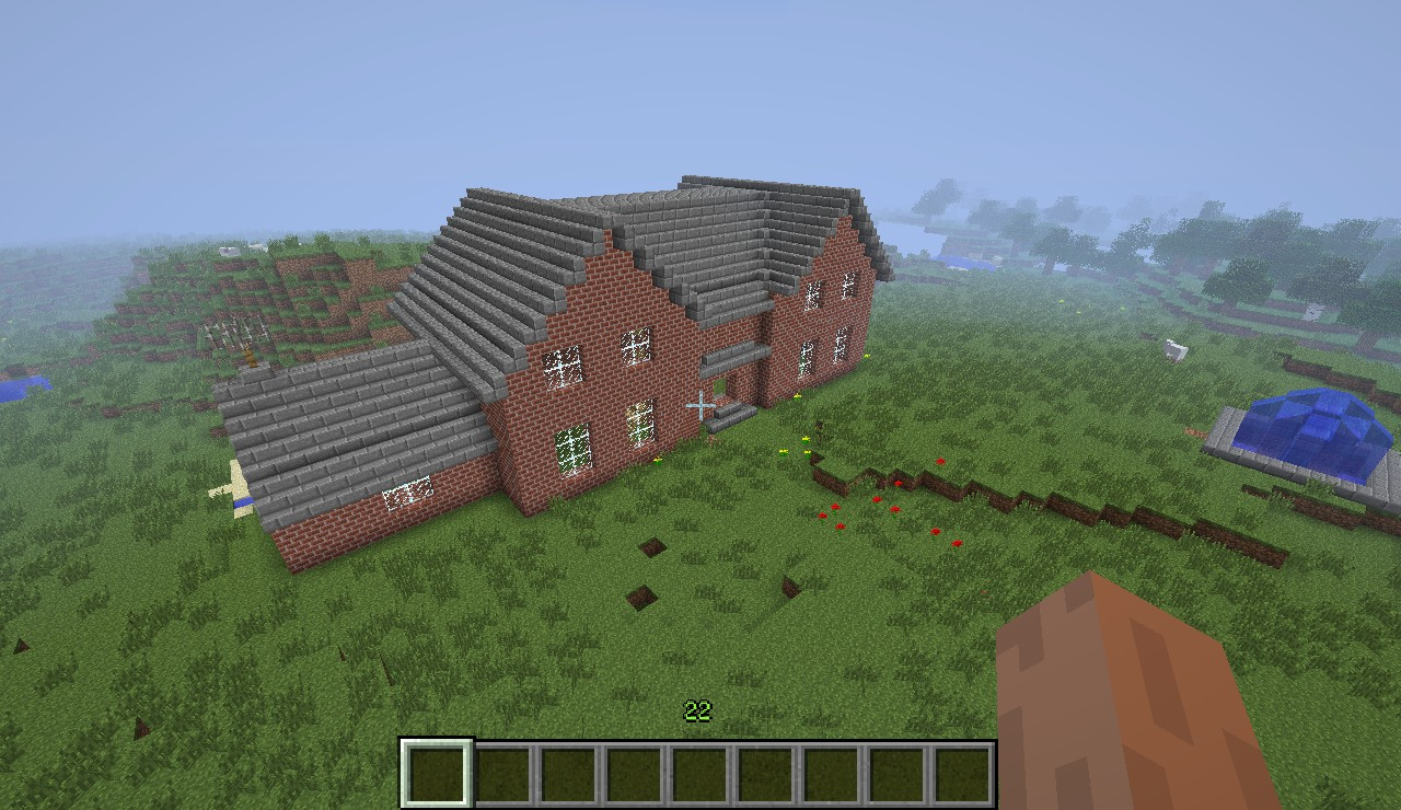 minecraft how to build a huge house