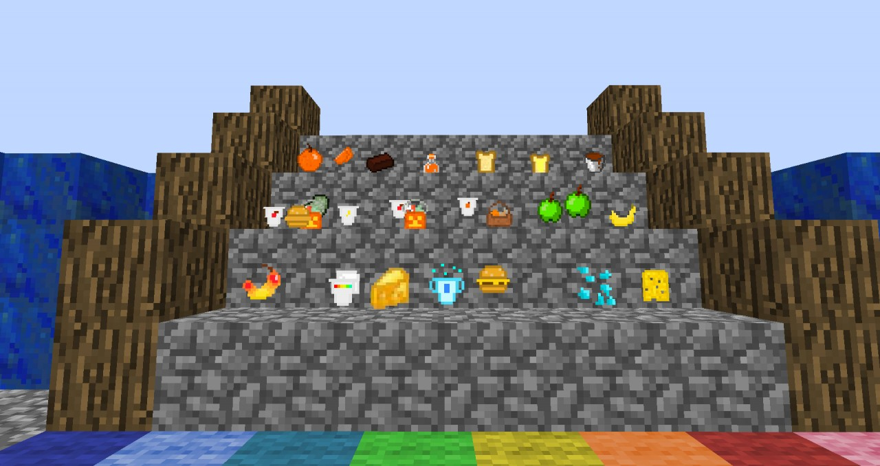 Too Much Food Mod - 1.3.2 - Adds 40+ New Yummy Items ...