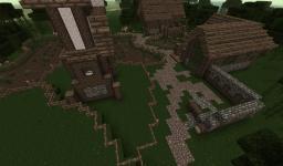 Blackwood [Skyrim Based Village] Minecraft Map & Project