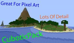 CuboticPack By: CuboticGaming [Great for pixel art] Minecraft Texture Pack