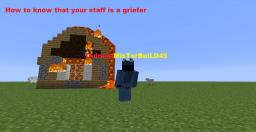 How to know that your player is a griefer Minecraft