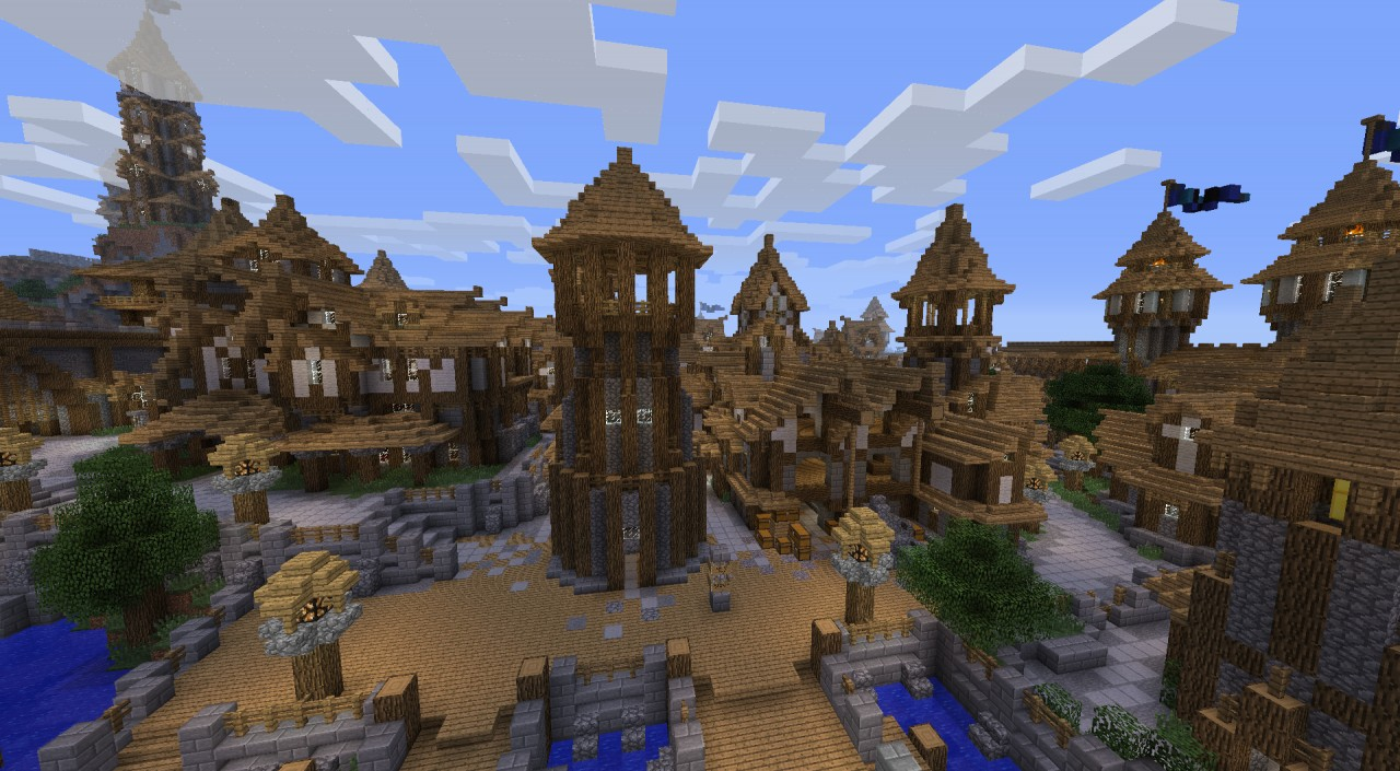 Minecraft Medieval City Download KARGETH (medieval city...