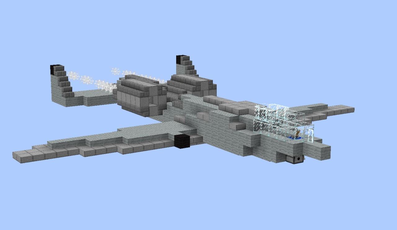 A 10 Thunderbolt Ii Minecraft Project