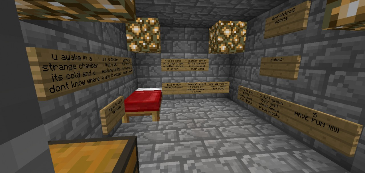 Escape The Ice Temple Minecraft Project
