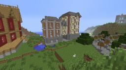 Victorian city Minecraft Project