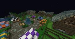 Awesome Medieval Village! Minecraft Map & Project