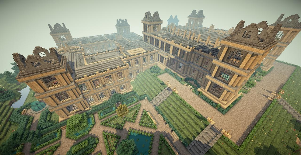 Wayne Manor & Bat Cave V. 1.1 - Minecraft Forum