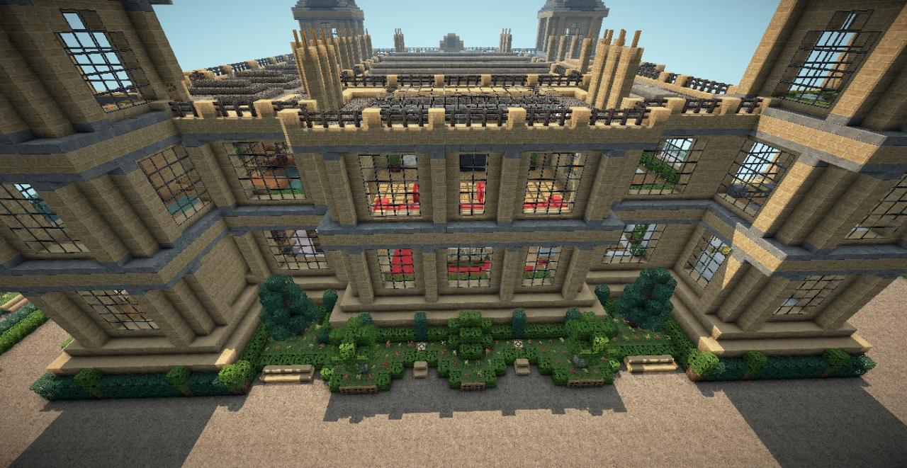 Mentmore Towers - Bruce Wayne Batman Minecraft Project