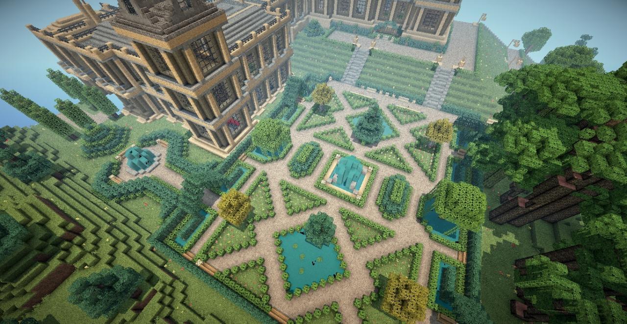 Mentmore Towers Bruce Wayne Batman Minecraft Project