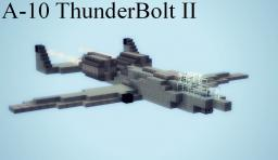 A-10 Thunderbolt II Minecraft Map & Project