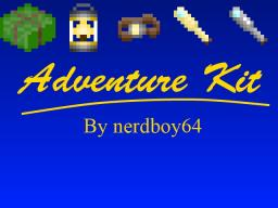 [1.5.1][FORGE][UPDATED 4/9/13] Adventure Kit v5.0 - Updated for 1.5.1! Minecraft Mod