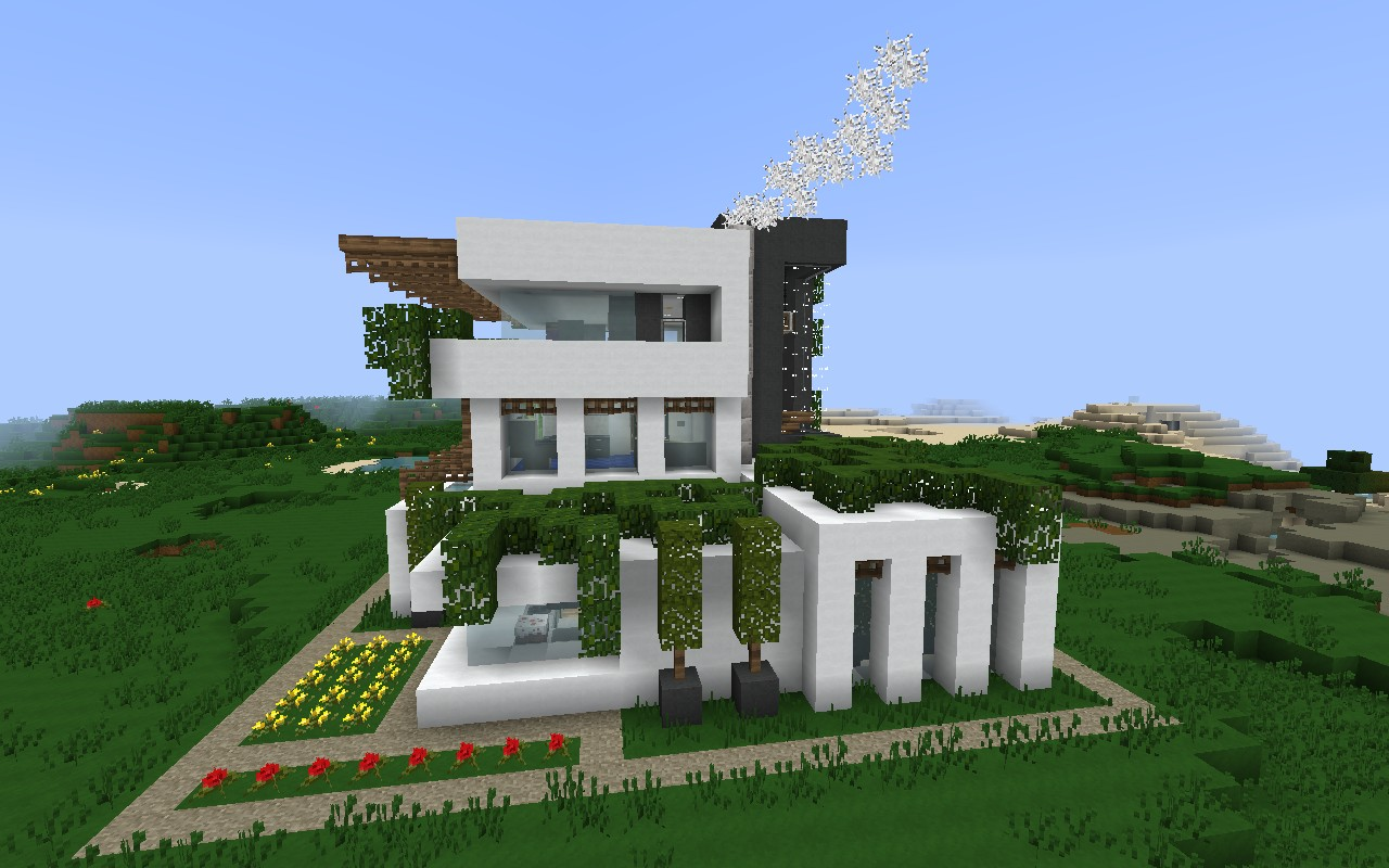 Permafrost house minecraft project - Modern house minecraft ...