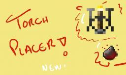 Torch Placer [1.3.2] Minecraft