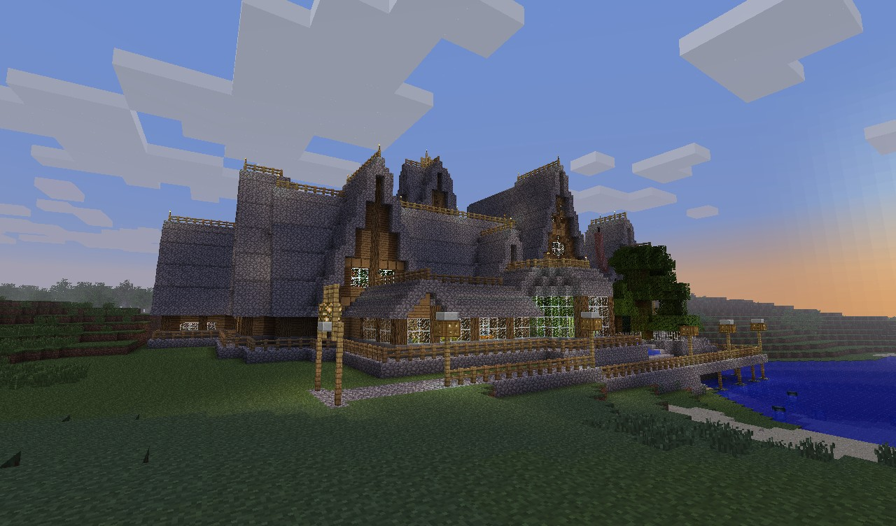 Twiningwood Manor Survival Mansion Minecraft Project
