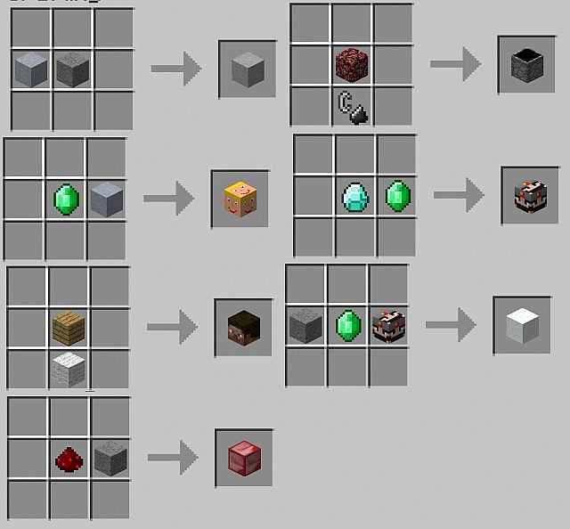 [VER 0.1]Random decoration blocks mod[1.3.2] Minecraft Mod