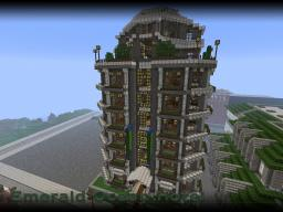 Emerald Ocean Hotel Minecraft Map & Project
