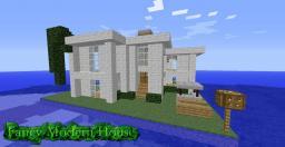 Fancy Modern House Minecraft Map & Project