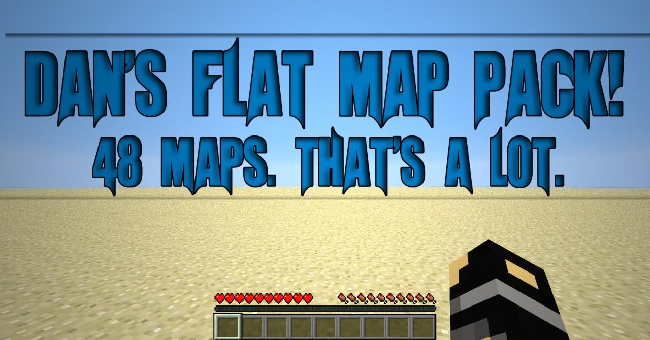 Dans flat map pack 48 maps creative survival minecraft project dans flat map pack 48 maps creative survival gumiabroncs Images