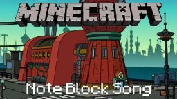 Minecraft Note Block Song: Futurama Theme Minecraft Project