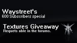 600 Subscribers special! Textures give away! Minecraft Blog Post