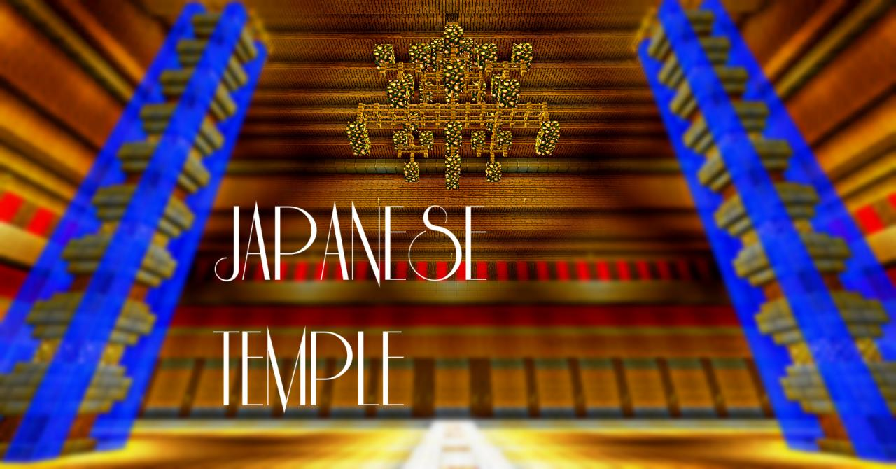 how to build a japanese temple in minecraft