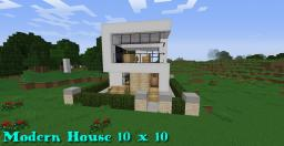 Modern House [10x10] Minecraft Map & Project