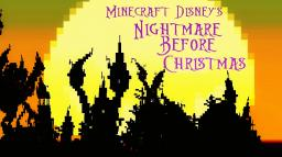 Halloween Town - Nightmare Before Christmas Minecraft Map & Project