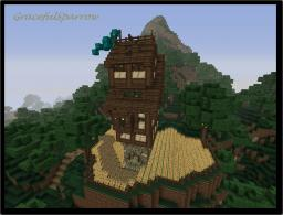 [Housing] Town_Housing_Design_#7 - Hilltop_Farm_House Minecraft Project