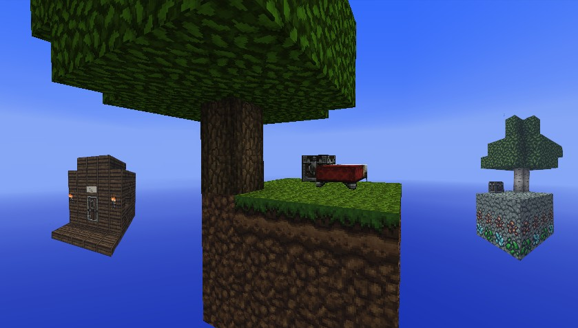 Sky Land Extreme Adventure/Challenge Map Minecraft Project