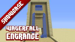 3x3 Secret waterfall entrance Minecraft Map & Project