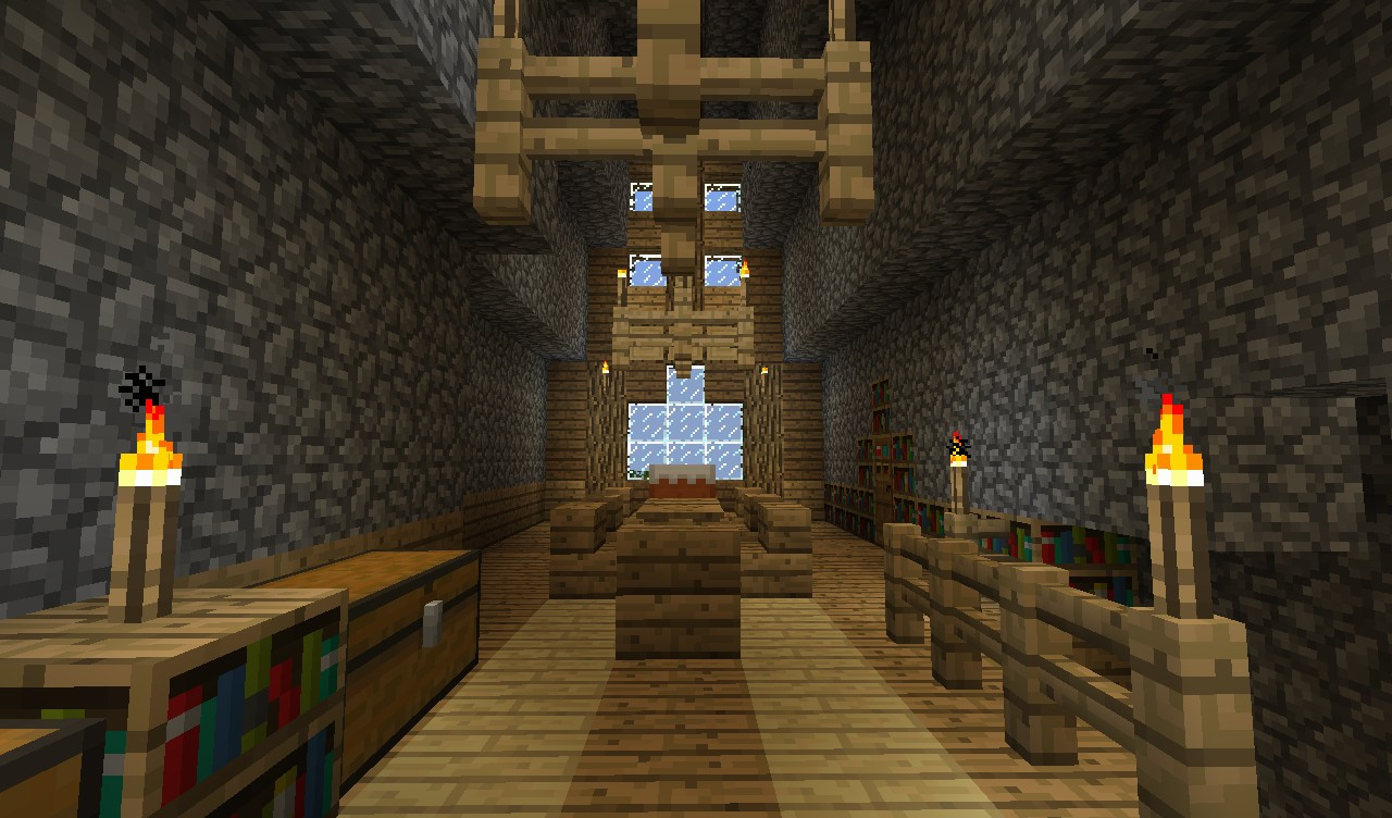 Twiningwood manor survival mansion minecraft project for Dining room minecraft