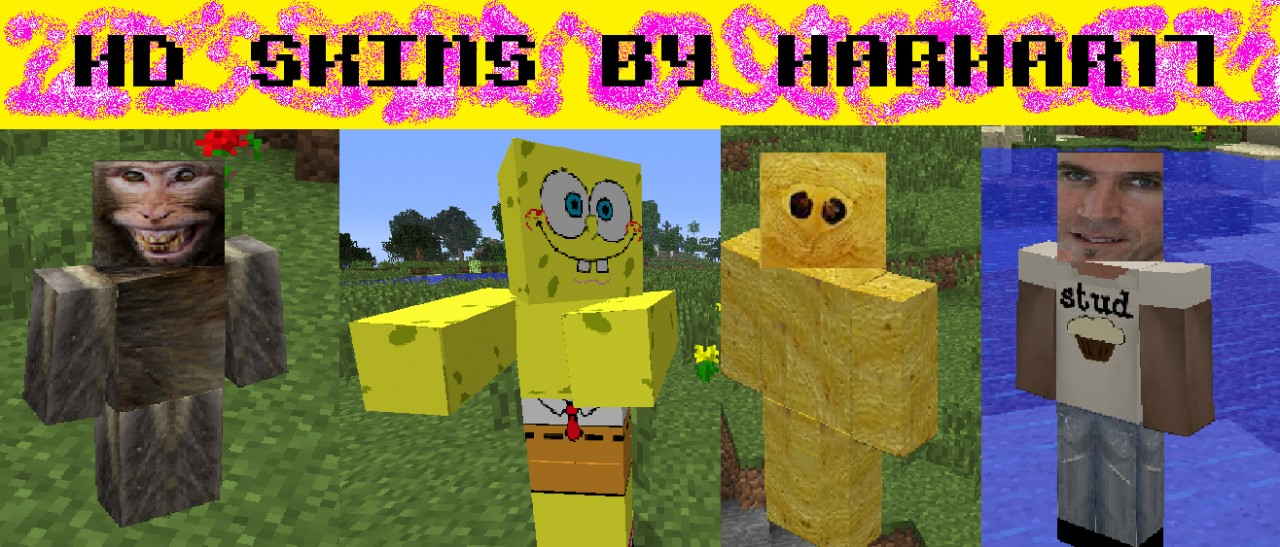 hd skins by harhar17 from real photos minecraft texture pack