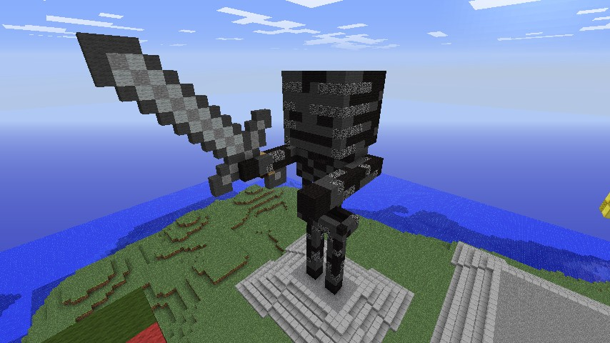minecraft how to build wither