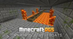 Drawbridge with boats NEW Trick/Bug - Minecraft Tutorial Minecraft Map & Project
