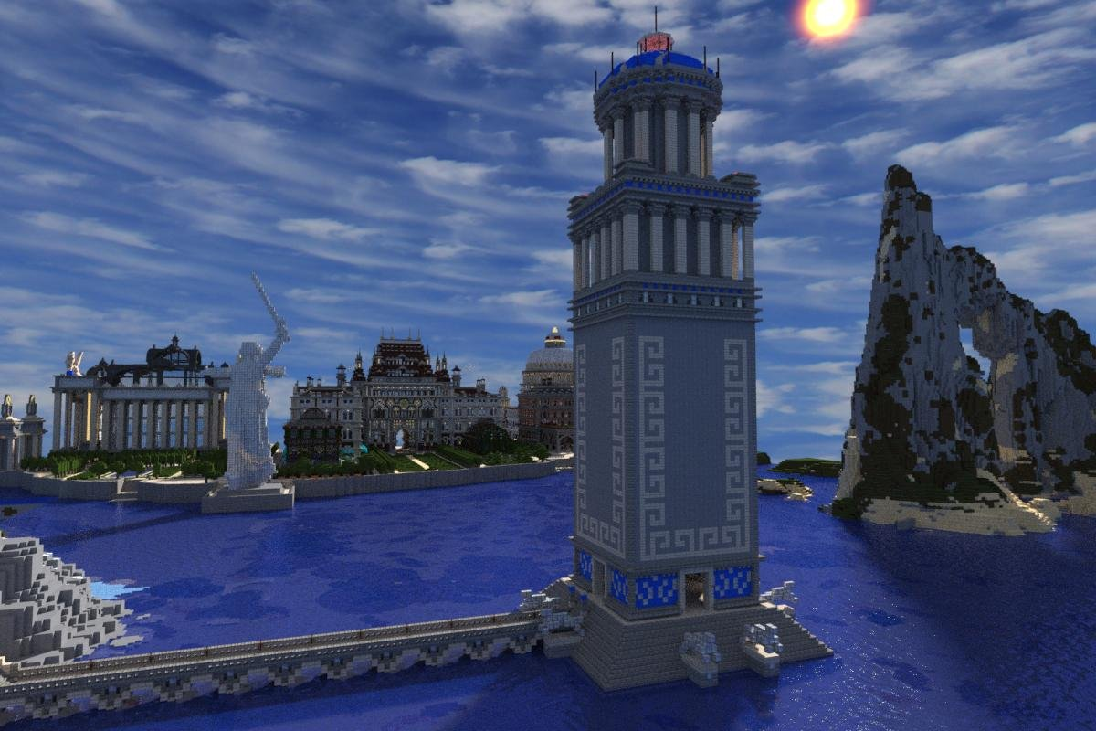 Imperial City Minecraft Project - New york map in minecraft