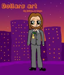 Dollars art Minecraft