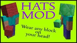 [1.4.7] Hats Mod - Wear Any Block On Your Head! v1 Minecraft Mod