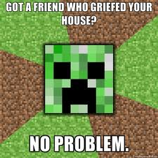 How not to get griefed Minecraft Blog