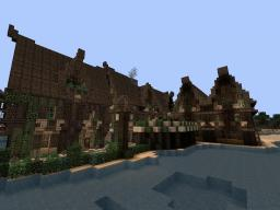 Desert Elven Houses Minecraft Map & Project